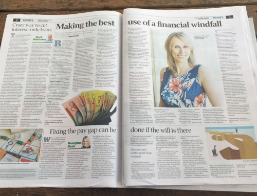 Sun Herald – How to Put a Financial Windfall to Good Use, John Collett